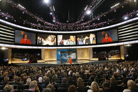 Oprah Winfrey at the 60th Primetime Emmys