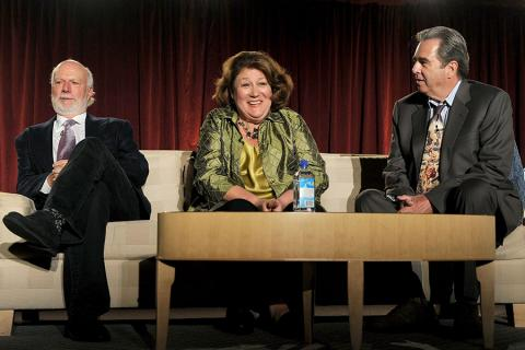 James Burrows with Margo Martindale and Beau Bridges