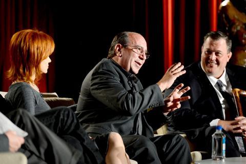Louis Mustillo, Swoosie Kurtz and Billy Gardell