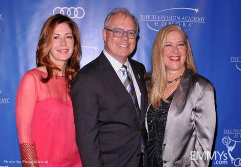 Dana Delany, John Shaffner and Lynn Roth arrive at the 5th Annual Television Academy Honors