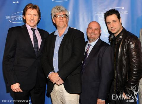 Denis Leary, Peter Tolan, Jim Serpico and Adam Ferrera arrive at the 5th Annual Television Academy Honors