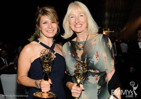 (L-R) Caroline McCall and Susannah Buxton