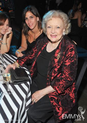 Betty White attends the Governors Ball during the Academy of Television Arts & Sciences 63rd Primetime Emmy Awards