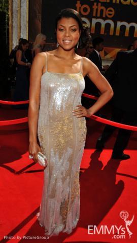 Taraji P. Henson arrives at the Academy of Television Arts & Sciences 63rd Primetime Emmy Awards