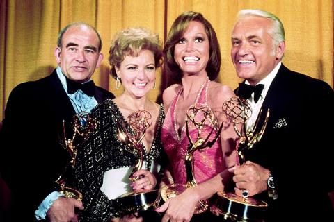 Ed Asner, Betty White, Mary Tyler Moore, Ted Knight