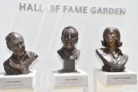 Carl Reiner, Walt Disney, Mary Tyler Moore
