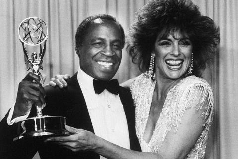Robert Guillaume and Linda Gray