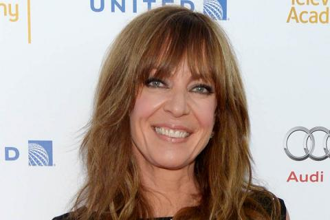 Allison Janney arrives at the Performers Peer Group nominee reception in West Hollywood.