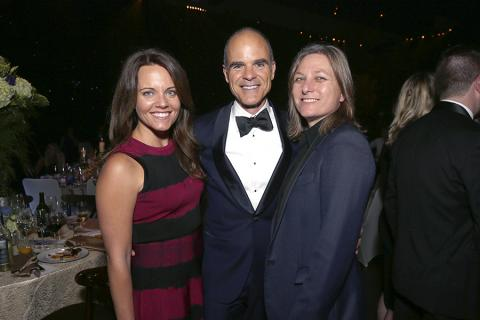 Cindy Holland, Michael Kelly and guest at the 2016 Creative Arts Ball.