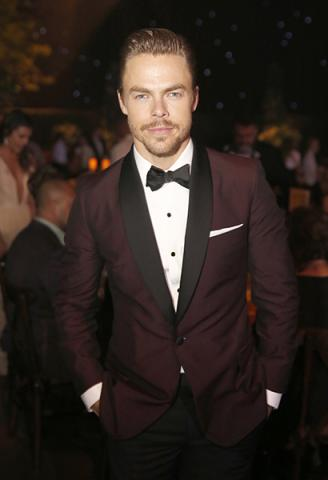 Derek Hough at the 2016 Creative Arts Ball.