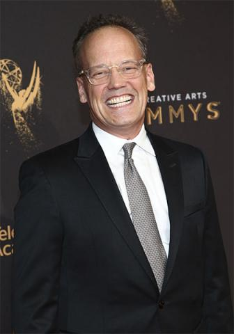 Dee Bradley Baker on the red carpet at the 2017 Creative Arts Emmys.