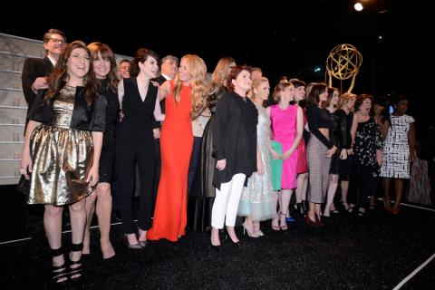 The nominees attend the Performers nominee reception.