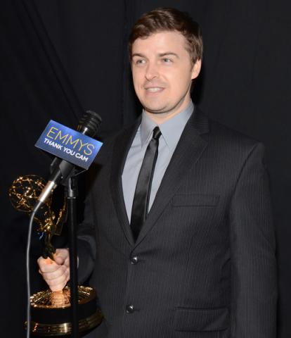 Cameron Baity at the 2014 Primetime Creative Arts Emmys.