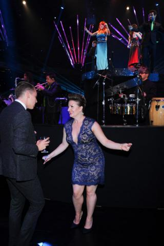 So You Think You Can Dance choreographer Mandy Moore at the 2014 Primetime Creative Arts Emmys Governors Ball.