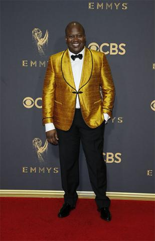 Tituss Burgess on the red carpet at the 69th Primetime Emmy Awards