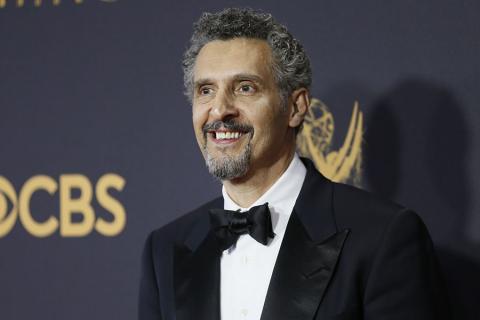 John Turturro on the red carpet at the 69th Primetime Emmy Awards