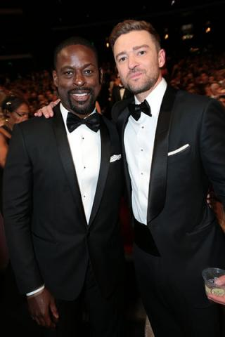 Sterling K. Brown and Justin Timberlake