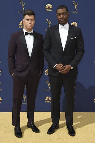 Colin Jost and Michael Che