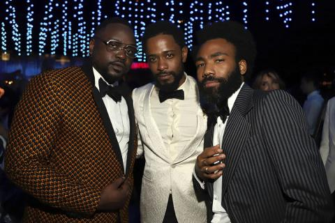 Brian Tyree Henry, Lakeith Stanfield and Donald Glover
