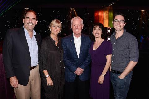 66th Emmy Awards Governors Ball committee members Edward Fassi, Barbara Casel, Russ Patrick, Geriann McIntosh and James Connelly preview ball decor and more for the press in Downtown Los Angeles.
