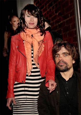 Lena Headey and Peter Dinklage at An Evening with Game of Thrones.