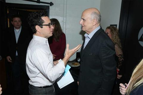 J.J. Abrams and Jeffrey Tambor at Transparent: Anatomy of an Episode, March 17, 2016 in Los Angeles.