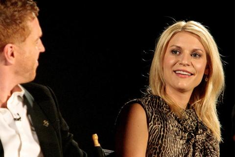 Claire Danes and Damian Lewis at An Evening with Homeland.