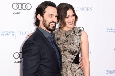 Milo Ventimiglia and Mandy Moore at the 2017 Television Academy Honors at the Montage Hotel on Thursday, June 8, 2017, in Beverly Hills, California.