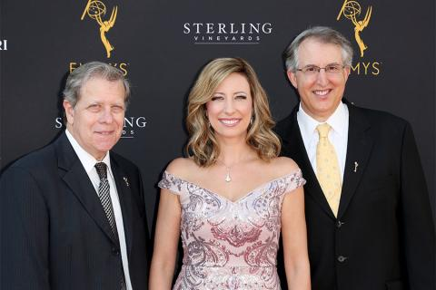 Mitch Waldow, Television Academy Governors, Brenda Brkusic, Paul Button