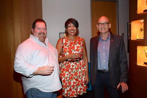 Scott Boyd, Lupe Boyd and Gary Macheel