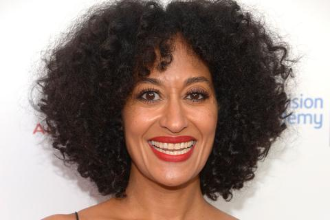 Tracee Ellis Ross of black-ish arrives at the Eighth Annual Television Academy Honors, May 27 at the Montage Beverly Hills.