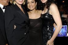 Christine Baranski, Archie Panjabi and Julianna Margulies at the 62nd Primetime Emmy Awards