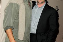 Kelsey Grammer and Brian Sher at An Evening With Boss