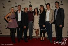 The cast of An Evening With Cougar Town