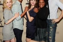 Gillian Jacobs, Danny Pudi, Alison Brie, Yvette Nicole Brown and Joel McHale at An Evening With Community