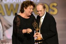 Bob Newhart and Margo Martindale