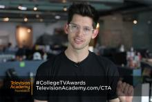 Hunter March and 38th College Television Awards