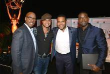 Courtney B. Vance, Cuba Gooding, Jr., Anthony Anderson, and Sterling K. Brown at the Performers Nominee Reception, September 16, 2016 at the Pacific Design Center, West Hollywood, California.