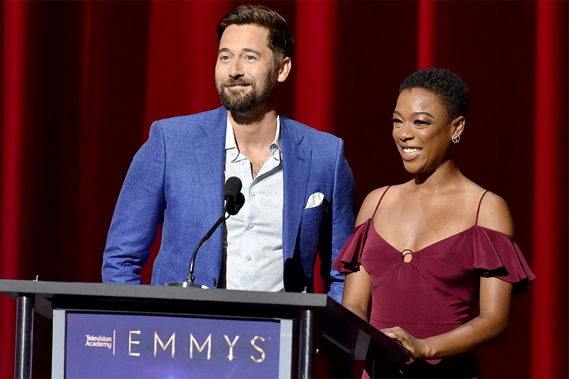 Ryan Eggold and Samira Wiley