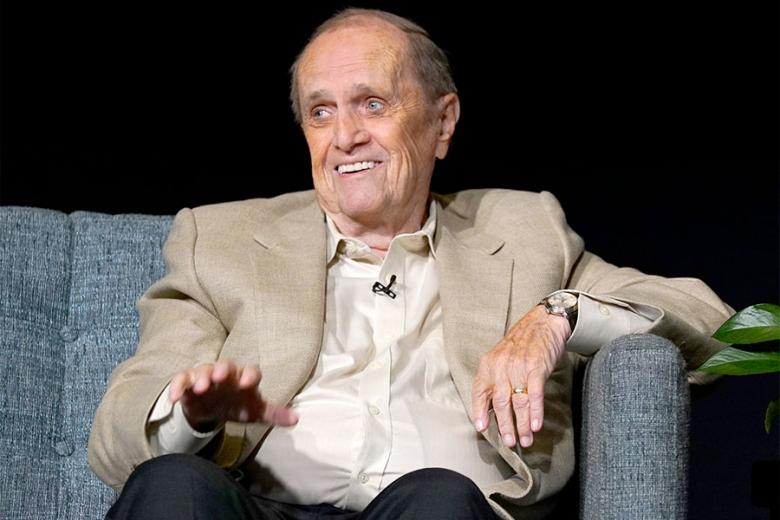 Bob Newhart onstage at The Rise of the Cerebral Comedy: A Conversation with Bob Newhart presented Tuesday Aug. 8 2017 at the Television Academy's Wolf Theater at the Saban Media Center in North Hollywood California.