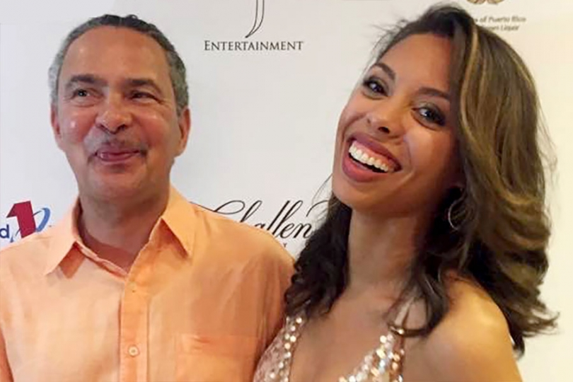Ciera Payton and her father