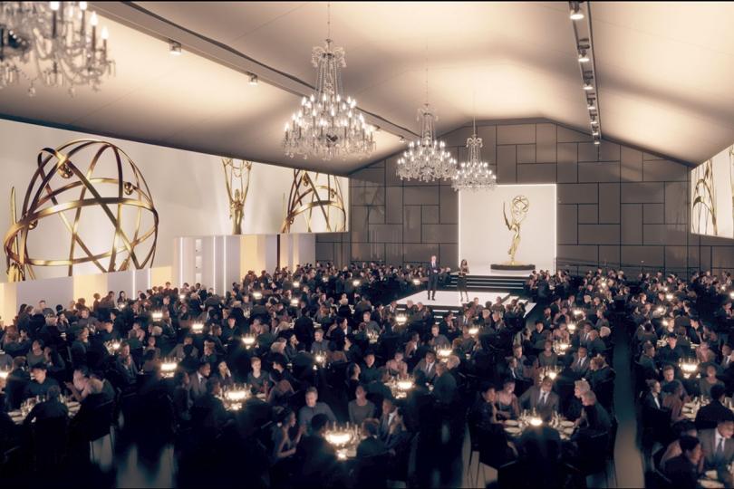 73rd Emmy Awards Stage Design