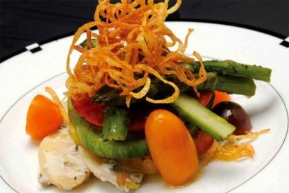 Joachim Splichal's Heirloom Tomato Salad