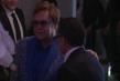 Elton John in the Audi Green Room