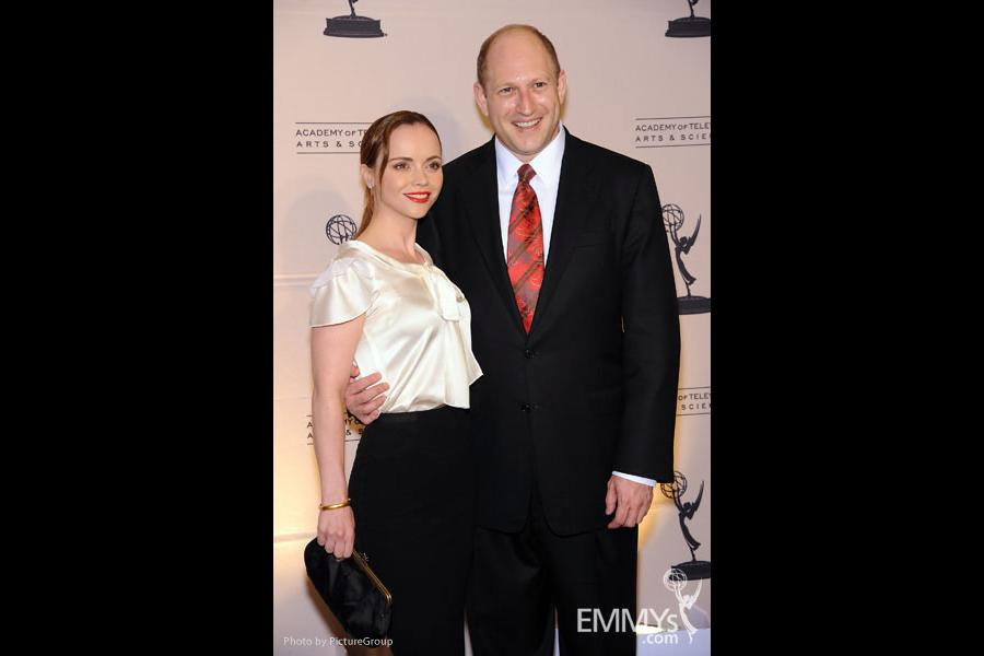 Christina Ricci & Scott Berkowitz at the Fourth Annual Television Academy Honors