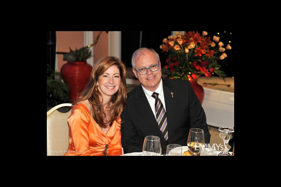 Dana Delany & John Shaffner at the Fourth Annual Television Academy Honors