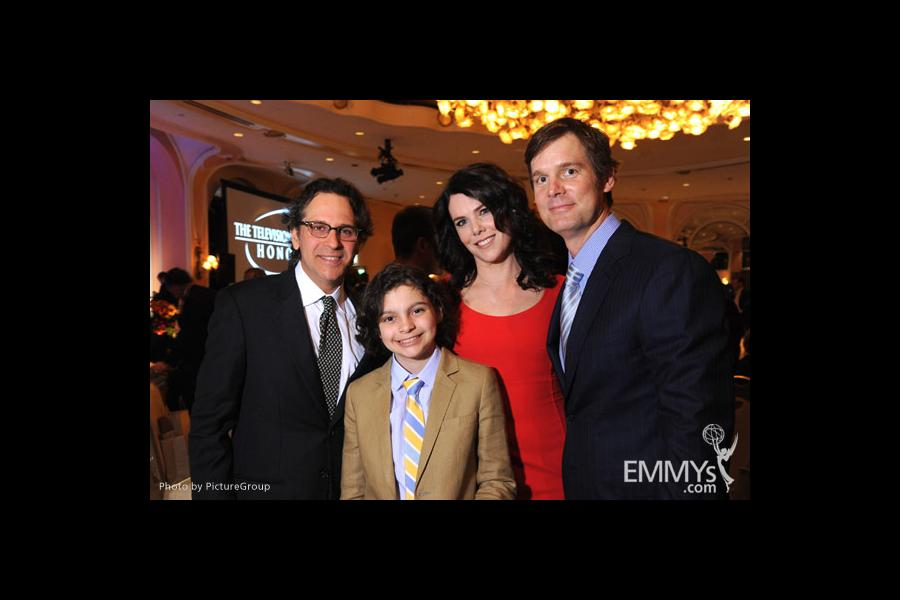 Jason Katims, Max Burkholder, Lauren Graham & Peter Krause at the Fourth Annual Television Academy Honors
