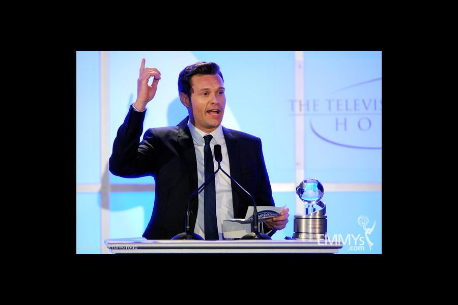 Ryan Seacrest at the Fourth Annual Television Academy Honors