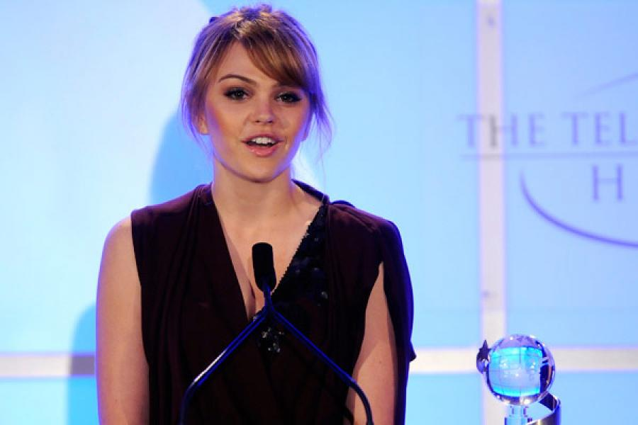 Aimee Teegarden at the Fourth Annual Television Academy Honors