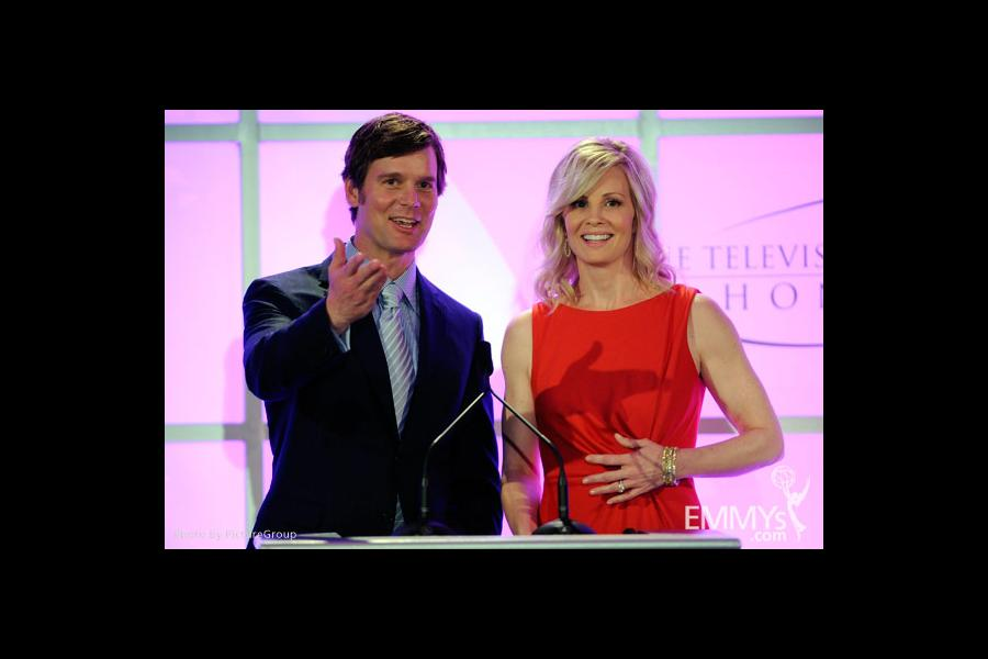 Peter Krause & Monica Potter at the Fourth Annual Television Academy Honors